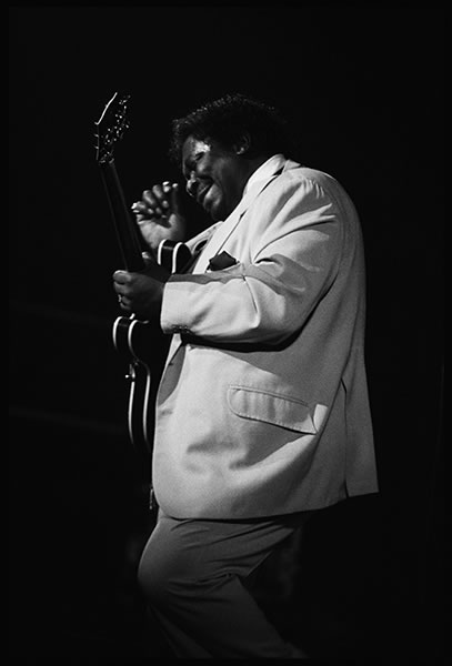 BB King, Hammersmith, 1980's